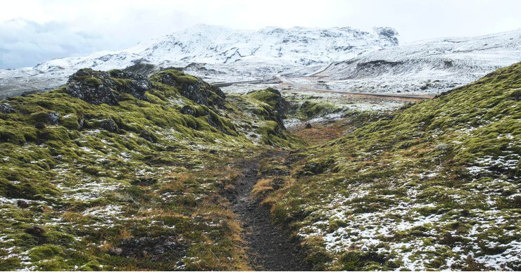 Battling The Elements On Iceland's Mt. Esja